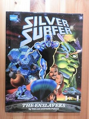 Silver Surfer: The Enslavers by Stan Lee & Keith Pollard HB/DJ
