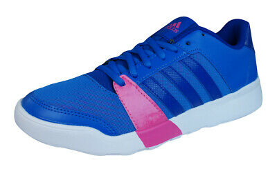 pretty nice c5725 ff85d adidas Essential Fun Womens Fitness Trainers  Shoes - Blue