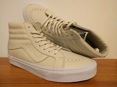 28cbb978158a VANS New SK8-Hi Reissue DX Armor Leather Vault Size Men's USA 9 UK 8.5