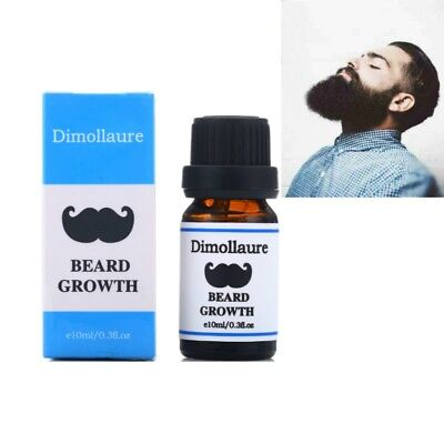 Growth Essence Organic Men Mustache Beard Hair Women Eyelash Eyebrow Thicker Oil