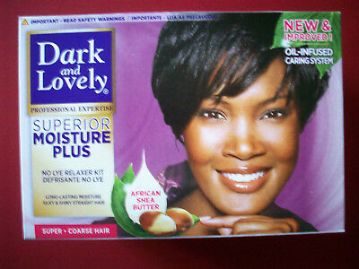 Dark&Lovely Moisture Plus Sheabutter Conditioning Relaxer super Haarglättung