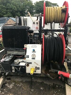 Drain jetter, van pack diesel high pressure cleaning for drains, cctv tanker