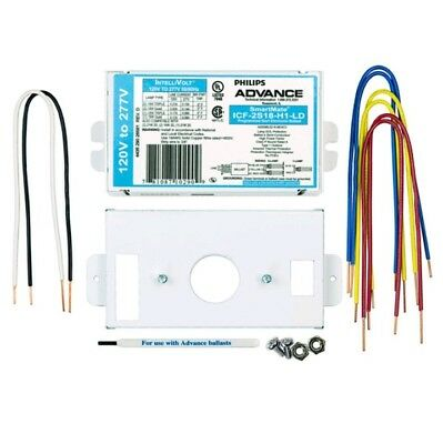 Philips Advance ICF2S18H1LDK Electronic Fluorescent 18 Wattage CFL 120-277