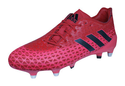 adidas Crazyquick Malice SG Mens Rugby Boots - Red