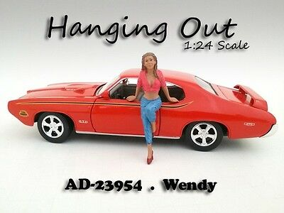 Hanging Out - WENDY - 1/24-G Scale figure/figurine - American Diorama