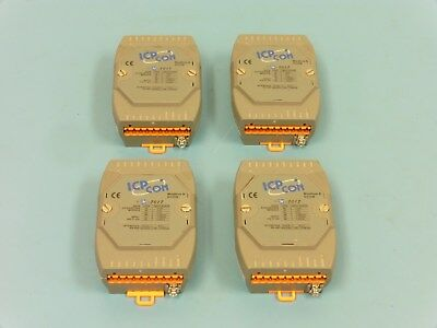 (Qty-4) ICP-CON M-7017 8-Channel Analog Input Data Acquisition Modules