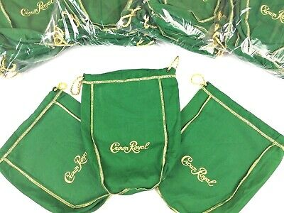 Crown Royal 750ml Bag Apple Green Whiskey Bourbon Storage Canada