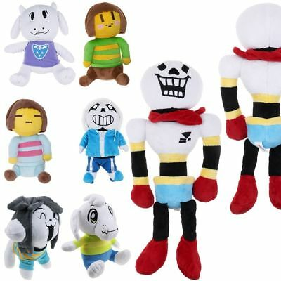 1Pcs Undertale Papyrus Sans Temmie Soft Plush Toy Asriel Stuffed Doll Animal New