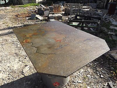 Slate hearth wood heater 20-30mm thick 1400deep x 1000wide  we can cut to size,