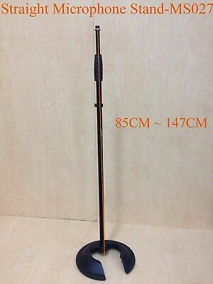 Haze MS027 Microphone Stand, Metal Structure,Straight, Round Base-Brand New