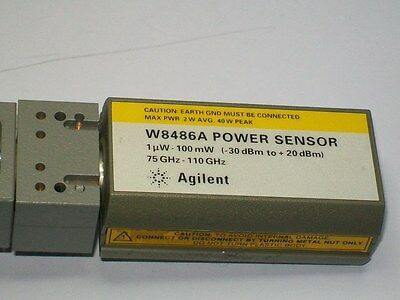 AGILENT HEWLETT PACKARD HP W8486A 75 - 110 ghz power sensor -30 +20 dbm