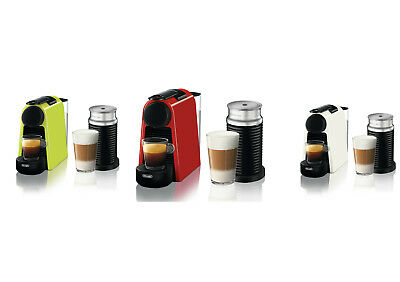 Delonghi EN85LAE EN85RAE EN85WAE Nespresso Essenza Mini - Lime - Red - White