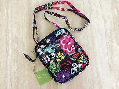 New Vera Bradley Disney Parks Mini Hipster bag in Mickey's Magical Blooms NWT