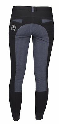 HORKA Junior Corsica Stylish Full Leather Seat Horse Riding Breeches