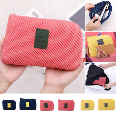 Universal Cell Phone and Accessories Sleeve Case Shake Proof Pouch Bag Travel Z1