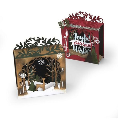 Sizzix Thinlits Die Set 19PK - Holiday Shadowbox 662284 Katelyn Lizardi