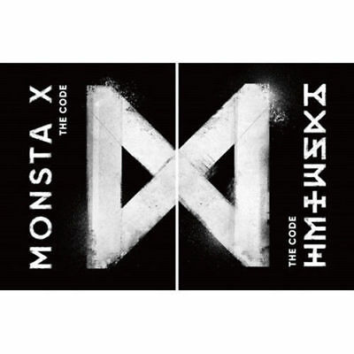 MONSTA X [THE CODE] 5th Mini Album CD+POSTER+PhotoBook+Booklet+2Card+etc+PRESENT