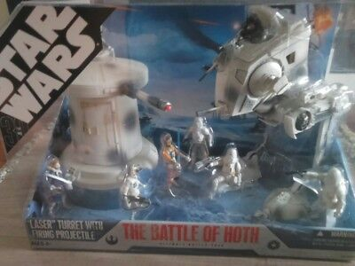 Star Wars Battle Pack Battle of Hoth Neu, sehr rar geworden OVP Ungeöffnet