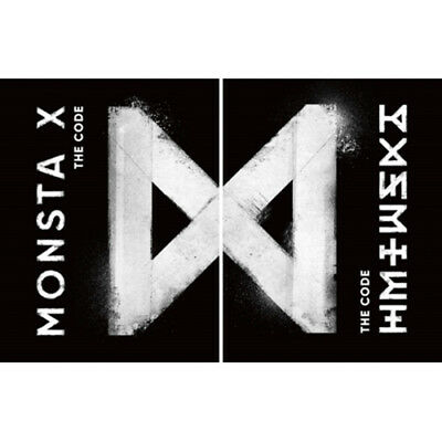 MONSTA X [THE CODE] 5th Mini Album 2Ver SET+POSTER+Book+Blooket+Card+etc+PRESENT