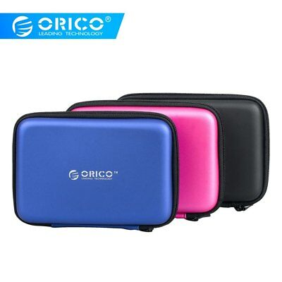 """ORICO Digital Bag 2.5"""" Seagate Hard Drive HDD Case USB Charger Cable Storage Bag"""