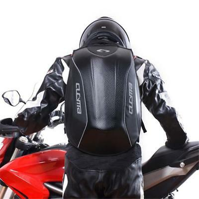 Motorcycle No Drag Stealth Motorcycle Bike Backpack Bag Hard Shell