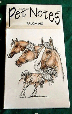 Palomino Horse Note Cards