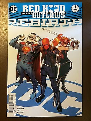 DC comics: RED HOOD AND THE OUTLAWS REBIRTH # 1, Variant, 1st print