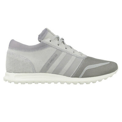 MENS GREY ADIDAS LOS ANGELES TRAINERS SIZE 10 UK4