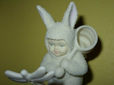 Dept 56 Snowbunnies You Better Watch Out Or I'll Catch You #26220  Butterfly New