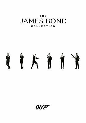 The James Bond Collection 1-24 [2017] (DVD)