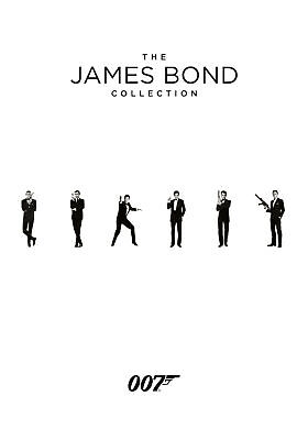 The James Bond Collection 1-24 (DVD) Sean Connery, George Lazenby, Roger Moore