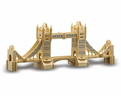 Holzbausatz Sperrholz London Tower Bridge Pebaro 884