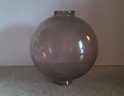 Amethyst Lighting Rod Ball Yard  Glass Roof  Old Cabin Home Decor