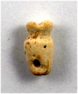 Near Eastern Iron age Levantine a faience  amulet