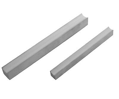 2pc Aluminium Pipe Bender Guides - 15mm and 22mm Copper Tube Piping Tool