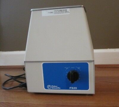 Fisher Scientific Ultrasonic Parts Cleaner Bath W/out Lid Model Fs20