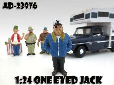 1/24 Trailer Park Series-One Eyed Jack -AMERICAN DIORAMA for your shop.garage