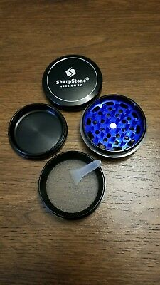 SharpStone 2.0 Grinder -BLACK- WAY Better Than Chromium Crusher! *FAST SHIPPING*