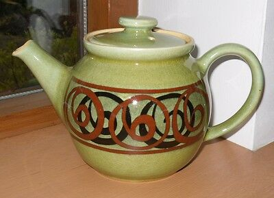 Vintage Brixham Pottery Limited Teapot - 4 inches dia & 7 inches Handle to Spout