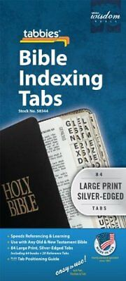 Large Print Bible Indexing Tabs Silver Bible Indexing Tabs