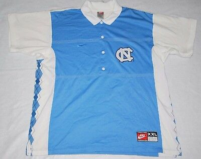 Nike North Carolina Tar Heels Basketball Shirt Jersey 2XL Warm Up Shooting Shirt
