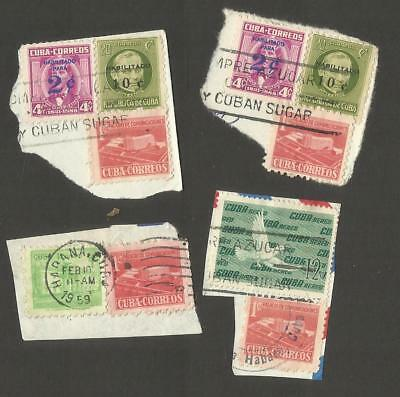 Havana ~ Small Collection On Stock Pages (Most Postally Used)