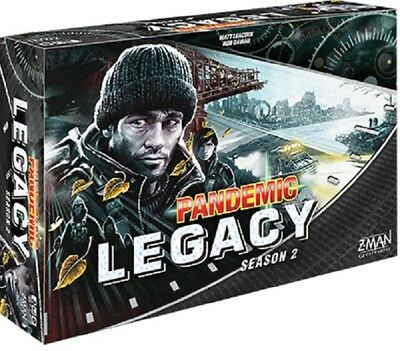Pandemic Legacy (Season 2) Board Game (Black) New
