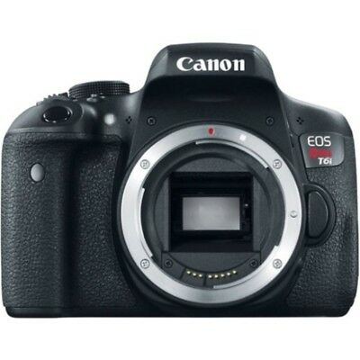 SI Canon EOS Rebel T6i 24.2 Megapixel Digital SLR Camera Body Only - 3 Touchscre