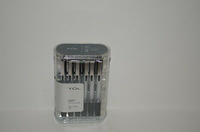 TUL Retractable Gel Pens 0.5 mm Fine Point Black 12/pk