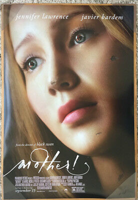 MOTHER! MOVIE POSTER DS ORIGINAL FINAL 27x40 JENNIFER LAWRENCE JAVIER BARDEM