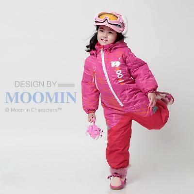 Moomins New Girl Kids One-Pieces Snowsuits Ski Set Snowboard Clothing Waterproof