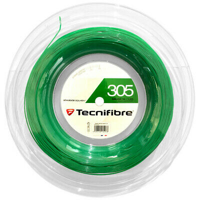Tecnifibre 305 Squash String 200m Reel - Green - 1.30mm - Free UK P&P