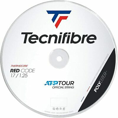 Tecnifibre Pro Red Code 1.25mm/17G - 200m Reel Tennis String - Red - Free UK P&P