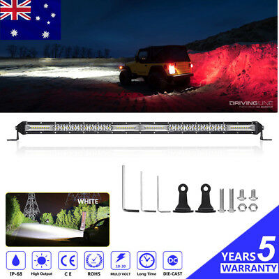 22 Inch 990W CREE LED Work Light Bar SPOT FLOOD CAR BAR Off Road Boat 4X4 23''
